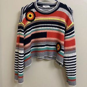 Zara Knit Multiple Color Sweater